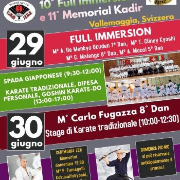 10 Full immersion Keiko e 11 Memorial Kadir 2019